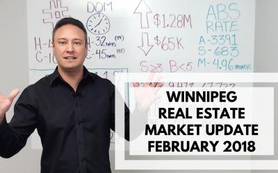 February 2018 – Winnipeg Real Estate Market Update